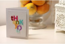 Cards - Thank you! / by Jessica Vanderloo