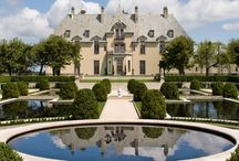 Chateau / All French Style Architecture / by Tom Pollock