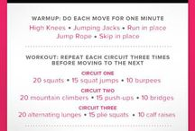 At Home Workouts / by Amanda Makin