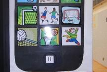 Sport notice boards