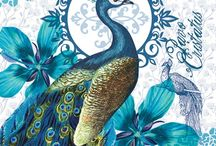Peacocks / Peacocks are a symbol of good luck and prosperity, renewal and guardianship
