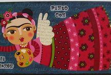 Frida Kahlo niños