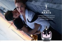 Parfume and fashion advertising