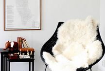 Sheepskin Rugs / Sheepskin rugs are a great way to make your home cozy. / by monica kay
