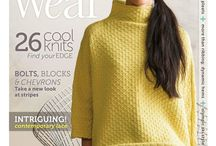 Knit and Fashion Magazines