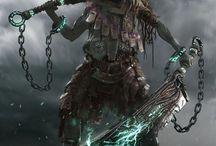 mroczne moce \ dark