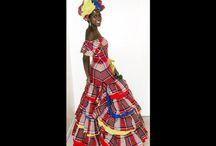 Jamaican Traditional Costume Dresses