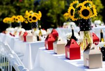 themed wedding: pic-nic
