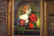 Oil Paintings / Antique Original Oil Paintings