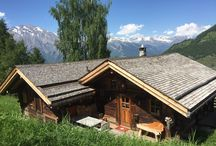 Chalets in Switzerland / Beautiful chalets in Switzerland