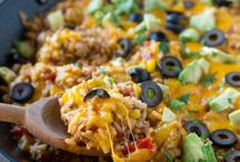 fried rice..... corn ....noodles..burger recipes