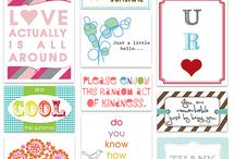 Printables & Paper loves / by Bethany Pollard