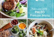 Paleo February 2015 Menu / Lemons, leeks and a little chard bring out the fresh flavors of wintery seasonal produce in our Paleo February 2015 Menu. / by Once A Month Meals