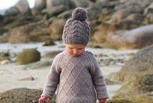 Little girl / Natural, boho, eco little lady