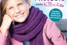 My Book - Easy Knit Projects using the Knook for Kids / by KRW Knitwear Studio
