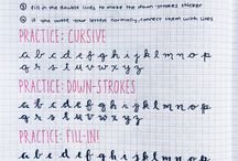 Letterings <3