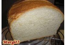 Gépi kenyérsütés:receptek