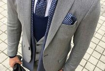 suite and tie