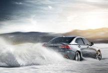 Dashing through the snow. The 2017 #Lexus #IS