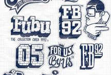 FUBU X 123KLAN / FUBU x 123KLAN TEESHIRT GRAPHICS, VARSITY JACKETS AND KICKS This is what we came up with for the brand FUBU,  they wanted something very NY oriented.
