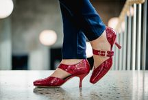 BARBRO Shoes - Windsor, red