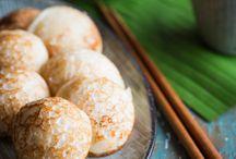Asia coconut pancake