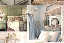 French Boudoir / decor for bed and bath french and shabby chic