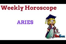 Aries Weekly Horoscopes / Weekly horoscopes for Aries sun sign, updated every Monday from Scullywag Astrology YouTube Channel. Astrology forecast.