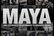 Maya & 3DS Max Tips and Tutorials / by Jackie Johnson