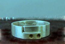 "Jewels made by Amalia// ""Square Snake"" ring. Hand melted pure silver / Unisex silver ring. Hand melted pure silver (999 grades of silver, 100% hand processed). Inspired by the sacred mythological snakes."