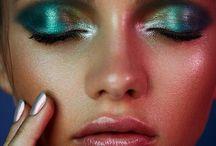 maquillage irisé