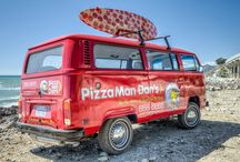 PizzaMan Dan's Delivery Fleet