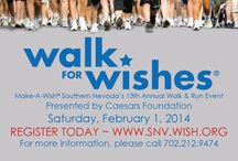 Walk for Wishes  / Walk for Wishes is our Annual Walk and Run event that incorporates local sponsors, families, friends, and wish children. Together we can all help share the power of a wish!