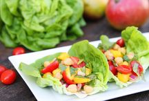 Healthy & Hearty Salad Recipes / Adding pulses means the difference between an appetizer salad and a delicious stand-alone meal!