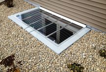 Flat Fabricated Covers / Our Flat Fabricated covers are made to hold a static weight of 400 pounds.  These covers are made for utility purposes, as well as for areas that have tight clearances where water drainage is not crucial. / by Window Well Experts