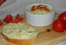 salata de vinete cu ardei si ciuperci