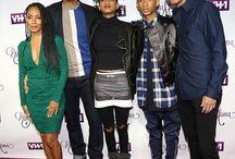 Will Smith & family