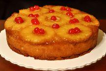 Tartas invertidas ( Upside down cakes )