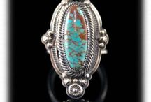 Womens Turquoise Rings