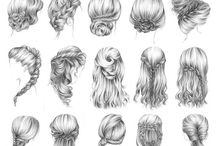 Different hairstyles / Hair