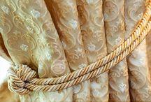 Текстильный декор (работы Акмэ) / Детали наших работ. Отличные от штор элементы текстильного декора: подушки, покрывала и другие элементы.