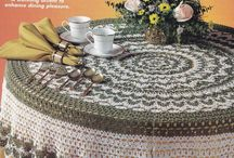 crochet tablecloth - tovaglie / by Paola Fazzi
