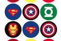 Superheldentraktatie/verjaardag