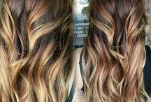 Ecaille haircolor