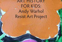 Warhol Art for Kids