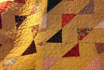 Quilt: triangles