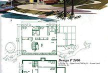 Mide century modern house