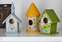 Bird house love
