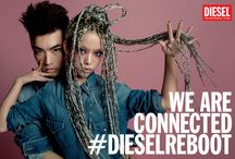 #DIESELREBOOT #SS14 Campaign / Welcome to the second #dieselreboot campaign. Meet the creative cast of the new Diesel community