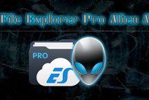 ES File Explorer Pro v1.0.5 Mod Alien